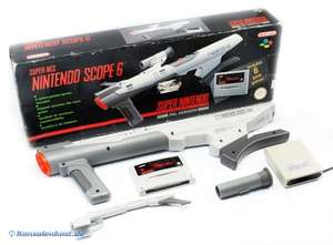 Nintendo Scope Bazooka + Super Scope 6