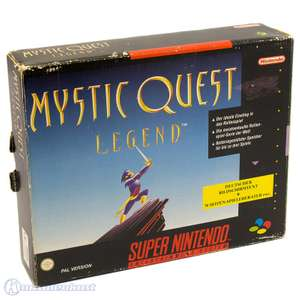 Mystic Quest Legend + Spieleberater