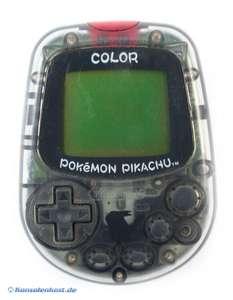 Pokemon Pikachu Ped-O-Meter Color / Pedometer / Schrittzähler