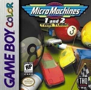 Micro Machines 1 + 2 Twin Turbo