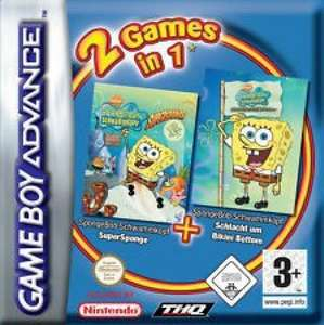 2in1: SpongeBob Pack Supersponge + SpongeBob Battle of Bikini Bottom