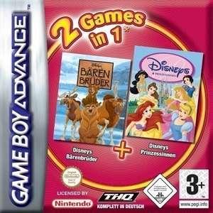 2 in 1: Bärenbrüder + Disneys Prinzessinnen