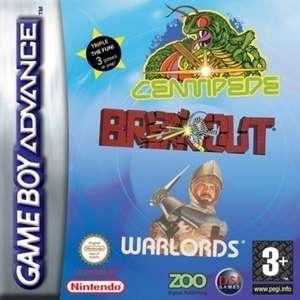 Breakout + Centipede + Warlords