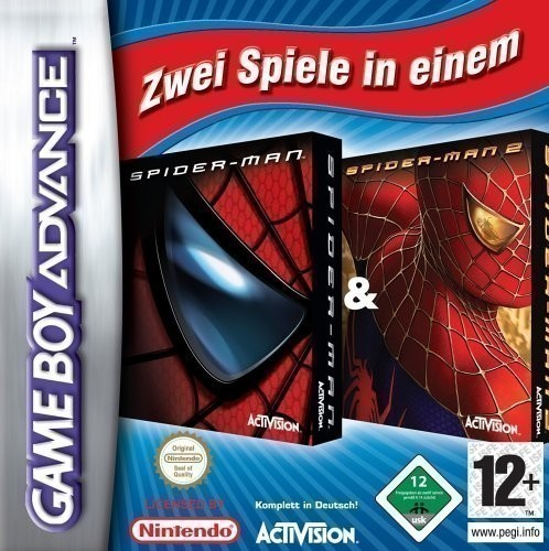 2 in 1: Spiderman: The Movie 1 & 2