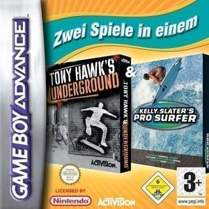 2 in 1: Tony Hawk's Underground & Kelly Slater Pro Surf