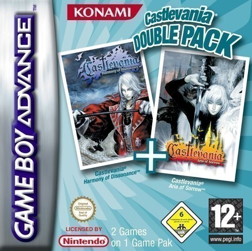 Castlevania: Double Pack: Aria of Sorrow + Dissonance