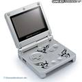 console GBA SP #Tribal Edition + power supply