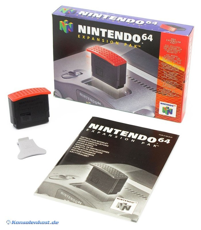 Original Nintendo Expansion Pak NUS-007