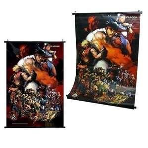 Street Fighter IV Wandbild / Wall Scroll