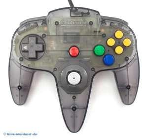 Original Nintendo Controller #schwarz-transp./Smoke Black NUS-005