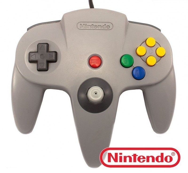 N64 - Original Nintendo Controller #grau NUS-005