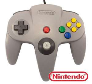 Original Nintendo Controller #grau NUS-005