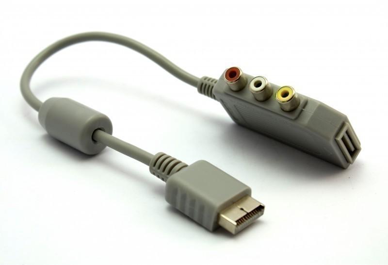 AV Adapter / Zwischenstück #grau