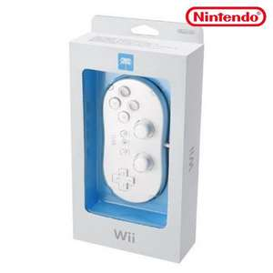 Original Controller / Pad #weiß Classic Gamepad RVL-005 [Nintendo]