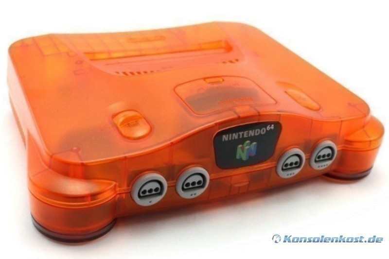 N64 - Konsole #Fire Orange