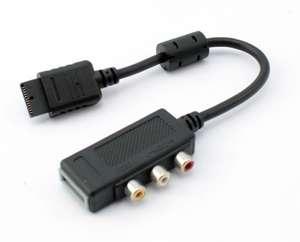 AV Adapter / Zwischenstück #schwarz [Innovation]