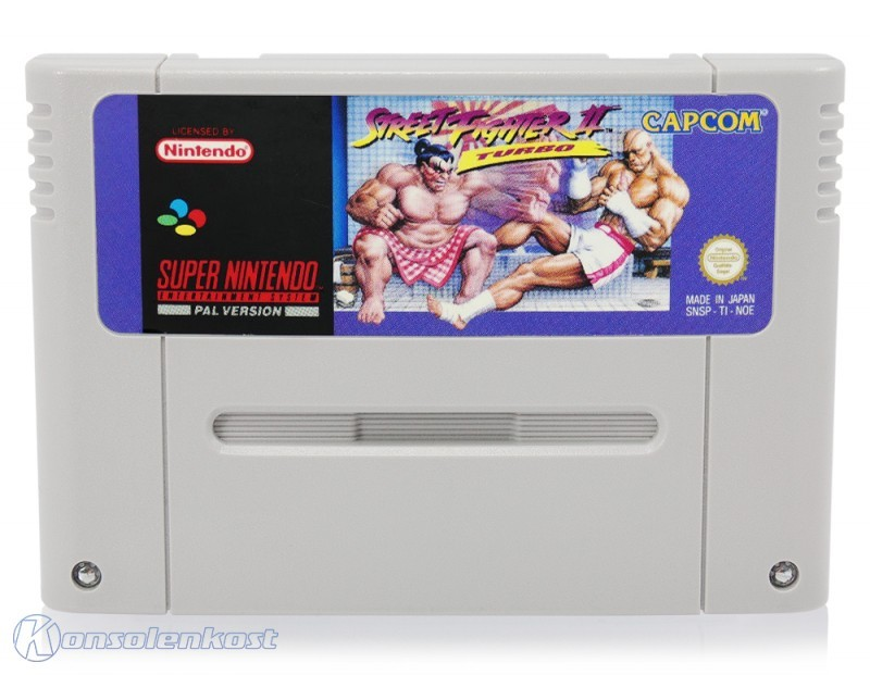SNES - Street Fighter 2 Turbo
