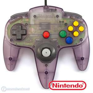 Original Nintendo Controller #Atomic Purple NUS-005