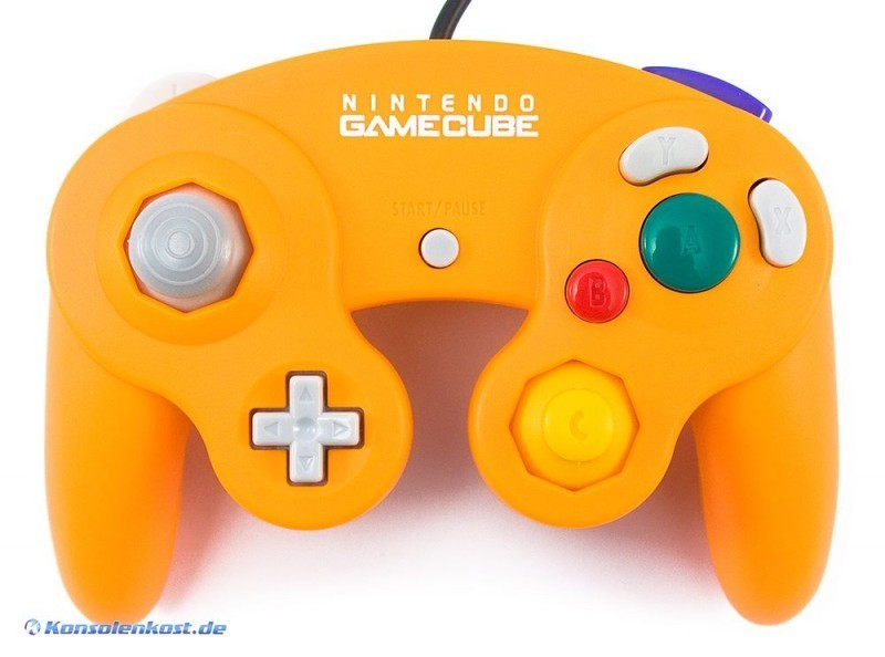 Original Nintendo Controller / Pad #orange DOL-003