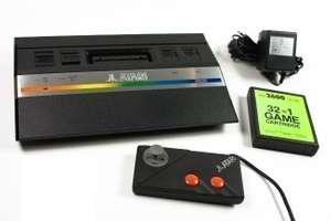 Konsole CX-2600 Jr. Rev. A + 32 in 1 Game + Original Controller + Zubehör