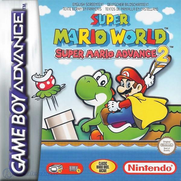 GameBoy Advance - Super Mario Advance 2: Super Mario World