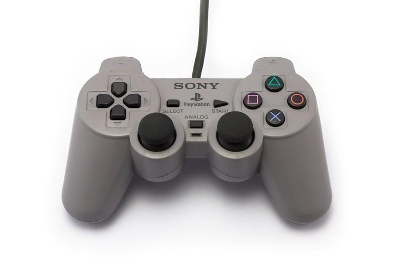 PS1 - Original Sony DualShock Controller #grau SCPH-1200