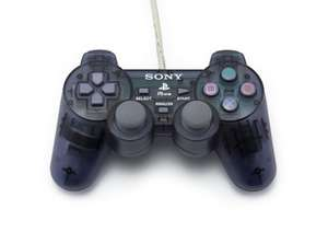 Original Sony Controller PSOne #schwarz-transp. SCPH-110