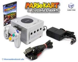 Konsole #silber + Mario Kart + Controller + Zubehör