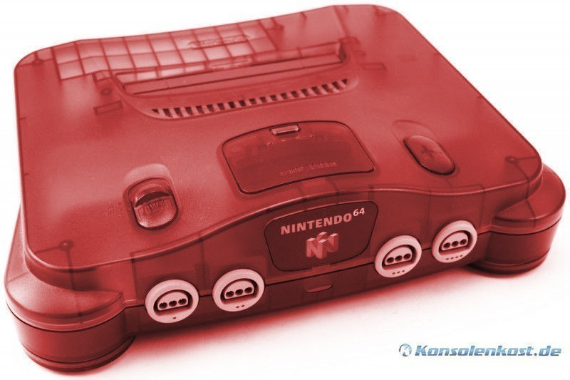 N64 - Konsole #Watermelon Red