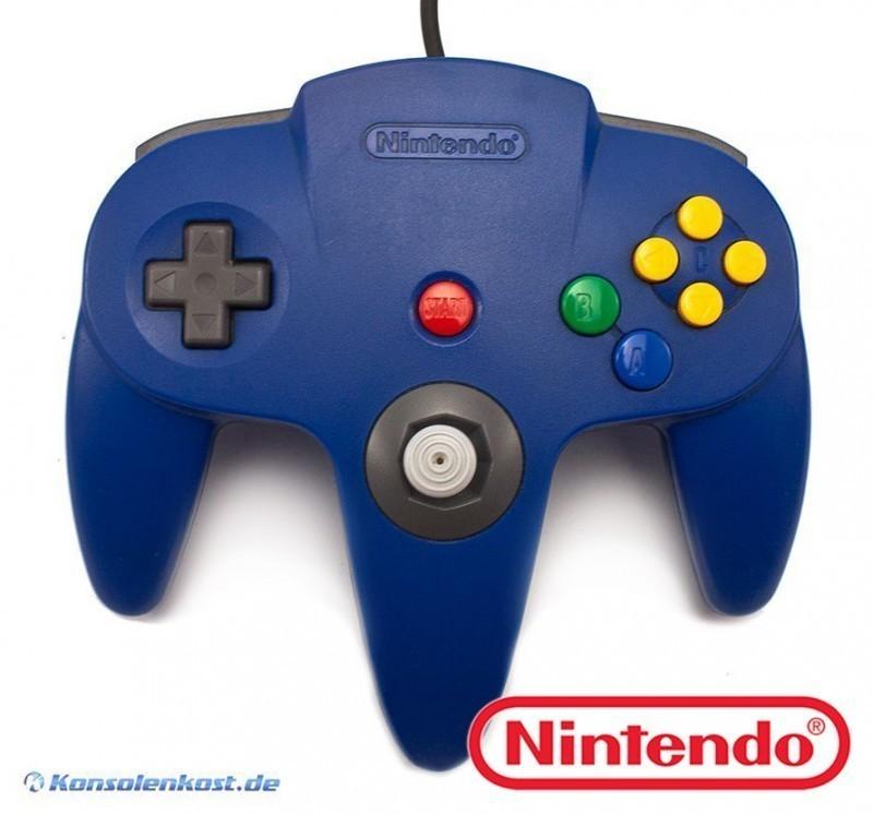 N64 - Original Nintendo Controller #blau NUS-005