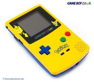 Konsole #Limited Pokemon Edition - Yellow / Gelb