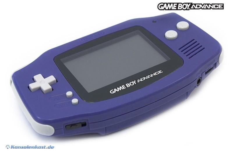 GameBoy Advance - Konsole #lila - purple