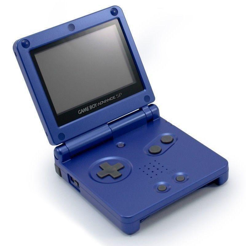 GameBoy Advance - Konsole GBA SP #blau + Netzteil