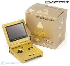 Konsole GBA SP #Zelda Limited Edition Pak + Netzteil