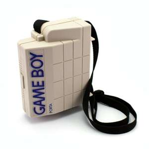 Original Nintendo Box Koffer Tasche #grau