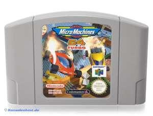 Micro Machines Turbo 64