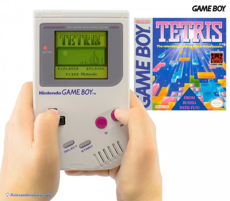 Konsole #grau Classic 1989 DMG-01 + Tetris
