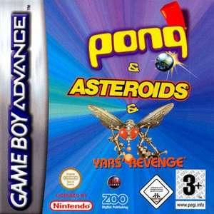 Pong + Asteroids + Yar's Revenge