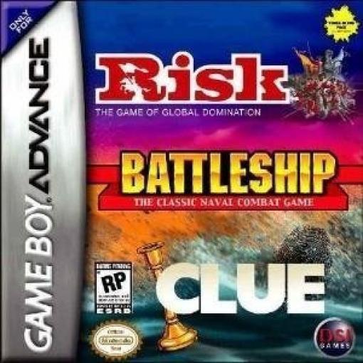 Risk + Battleship + Clue