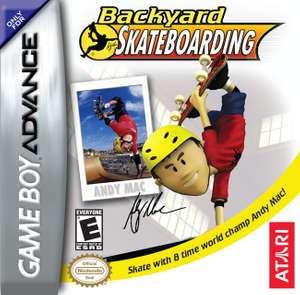 Atari Backyard Skateboarding
