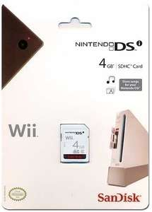 Memory Card / 4 GB SD Speicherkarte [SanDisk]