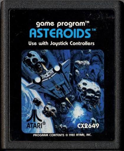 Atari 2600 - Asteroids #Blacklabel
