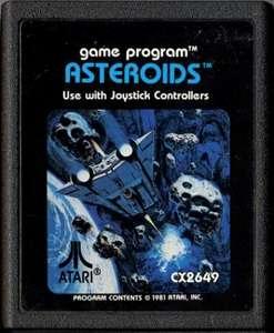 Asteroids #Blacklabel