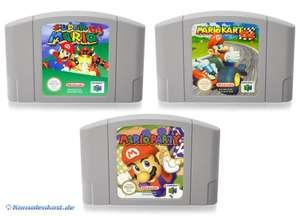 Super Mario 64 + Mario Kart 64 + Mario Party 1