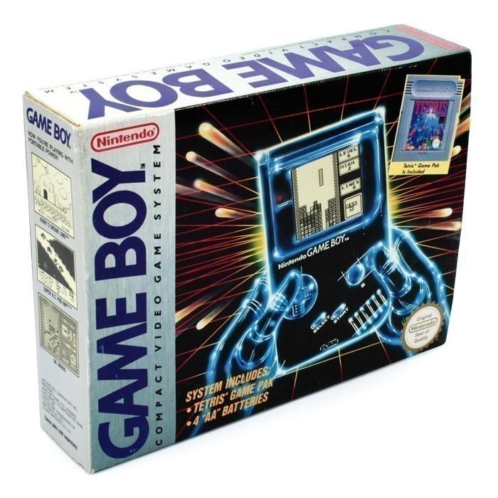 Konsole Classic 1989 DMG-01 +Tetris #grau