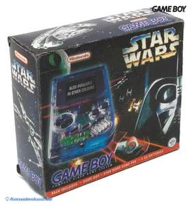 Konsole #transparent - Hip Boy Star Wars Edition grau Classic 1989 DMG-01