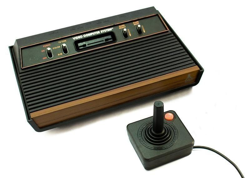 Konsole CX-2600 A #4 Schalter Holz-Design + Controller + Zubehör