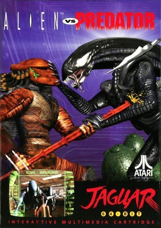 Atari Jaguar - Alien vs. Predator