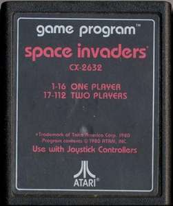 Space Invaders #Textlabel