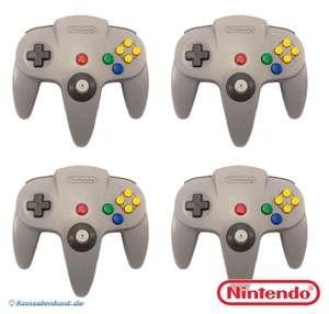 4 Original Nintendo Controller #grau